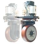 Korsys : ensemble moto-réducteur complet avec direction électrique